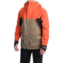 686 GLCR Tract Snowboard Jacket - Waterproof (For Men) in Tomato Color Block - Closeouts