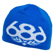 686 Icon Beanie Hat (For Kids) in Blue - Closeouts