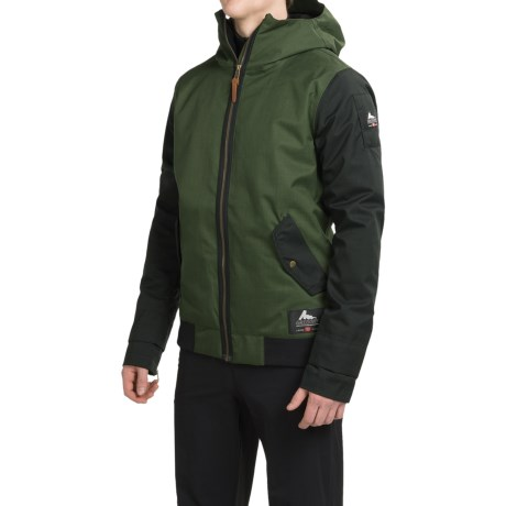 686 Limited Edition Gregory Bomber Snowboard Jacket Waterproof Insulated For Men