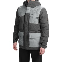 686 Parklan Preserve Snowboard Jacket - Waterproof, 600 Fill Power Down (For Men) in Black Heather Twill - Closeouts