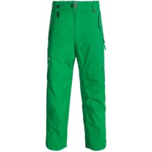 686 Smarty® Original Cargo Snowboard Pants -Waterproof, Insulated, 3-in-1 (For Men) in Kelly Green - Closeouts