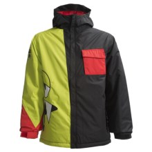 686 Snaggleface II Jacket - Insulated (For Boys) in Black - Closeouts
