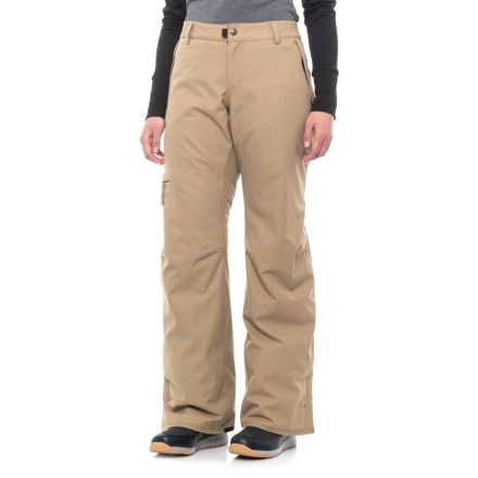 70fa1d925dd1b 686 Snowboard Pants - Waterproof, Insulated (For Women) in Khaki - Closeouts