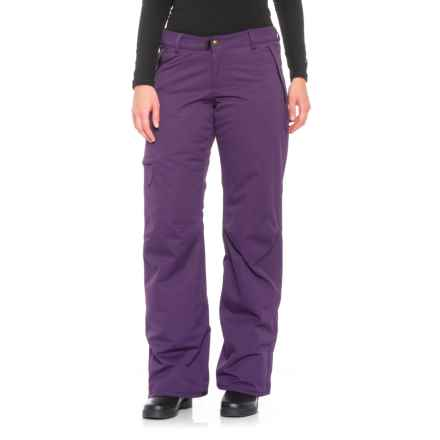 686 Snowboard Pants - Waterproof, Insulated (For Women) in Violet - Closeouts