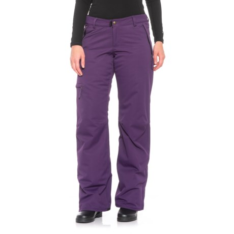 686 Snowboard Pants - Waterproof, Insulated (For Women) in Violet
