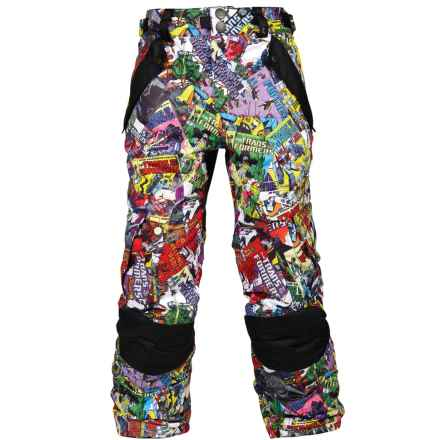686 Transformer Ski Pants - Waterproof, Insulated (For Boys) in Comic Book - Closeouts