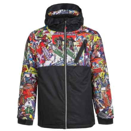 686 Transformers Ski Jacket - Waterproof, Insulated (For Boys) in Comic Book - Closeouts