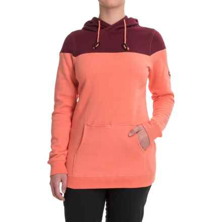 686 Wanderlust Hoodie (For Women) in Coral - Closeouts