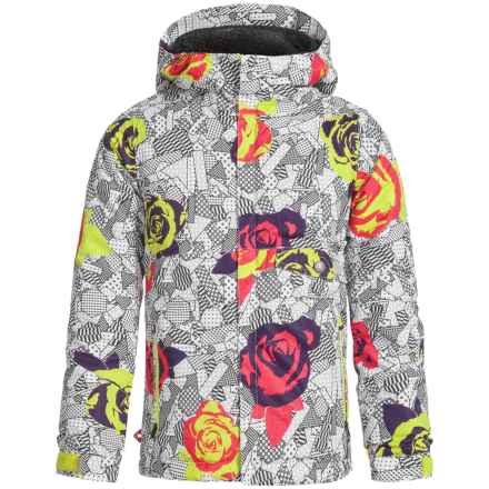 686 Wendy Ski Jacket - Waterproof, Insulated (For Girls) in Fuschia Floral - Closeouts