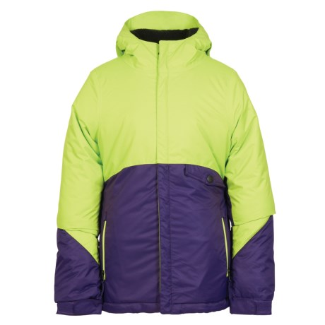 686 Wendy Ski Jacket - Waterproof, Insulated (For Girls) in Violet Colorblock