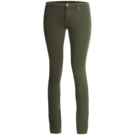 7 For All Mankind Gwenevere Pants - Double Knit (For Women) in Olive