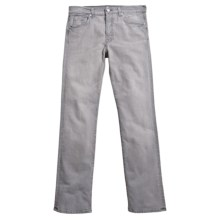 7 For All Mankind Standard Jeans - Straight Leg (For Men) in Grey - Closeouts