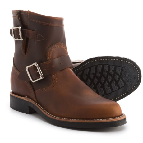 Image of 7? Raynard Original Engineer Boots - Leather (For Women)