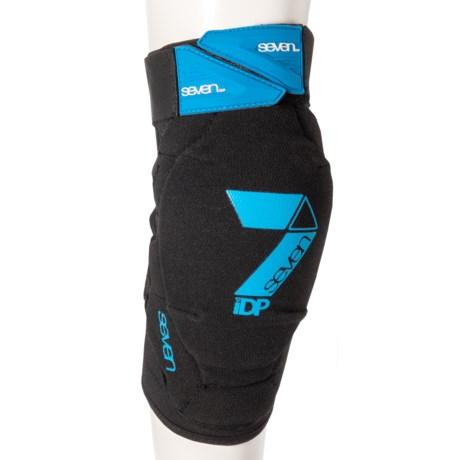 7iDP Flex Knee Guards (For Kids) in Black