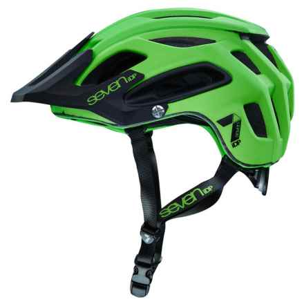 7iDP M2 Cycling Helmet (For Men and Women) in Neon Lime/Black - Closeouts