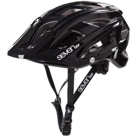 7iDP M4 Bike Helmet in Black/White