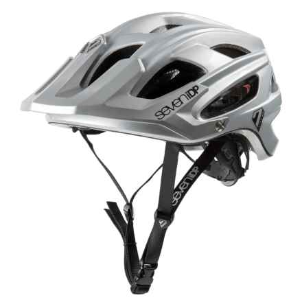 7iDP M4 Bike Helmet in Grey/Black - Closeouts