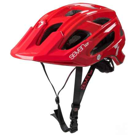 7iDP M4 Bike Helmet in Red/White - Closeouts