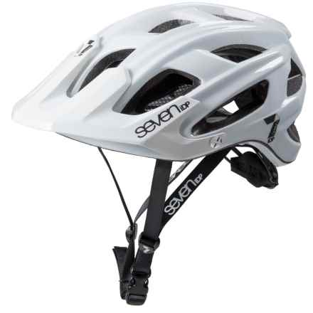 7iDP M4 Bike Helmet in White/Black - Closeouts