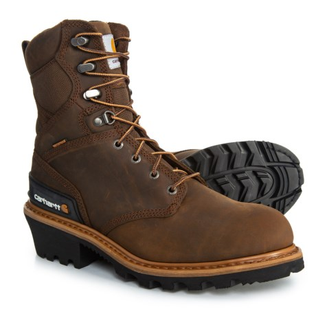 Image of 8? Logger Boots - Waterproof, Insulated, Leather (For Men)