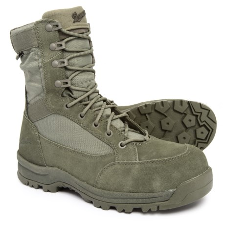 Image of 8? Tanicus Military Work Boots - Composite Safety Toe, Waterproof (For Men)