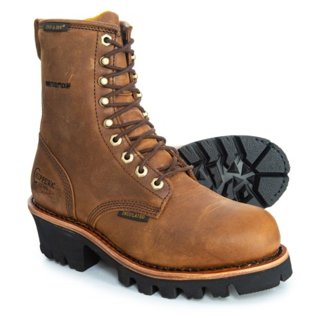 Image of 8? Wakita Logger Work Boots - Waterproof, Insulated, Leather (For Women)