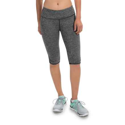90 Degree by Reflex Bermuda Capris (For Women) in Heather Charcoal - Closeouts