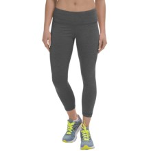 90 Degree by Reflex Bright Caution Capris (For Women) in Heather Charcoal - Closeouts
