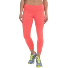 90 Degree by Reflex Bright Caution Capris (For Women) in Heather Orange - Closeouts