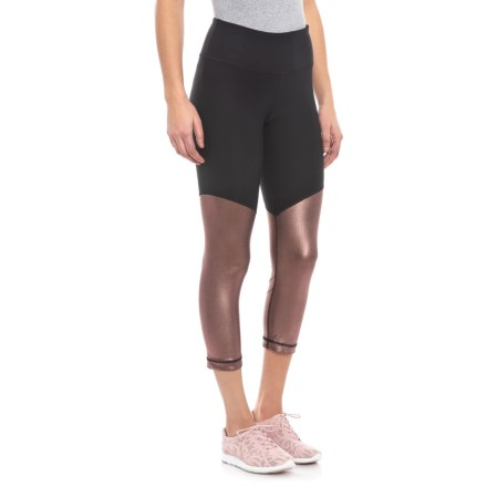 fb583edb50 Lux Peached Pocket Hi-Rise Capris (For Women). $14.99. Compare at $30.00. Save  50%. 4 · 90 Degree by Reflex Cycling Capris (For Women) in Rose Gold/Black -