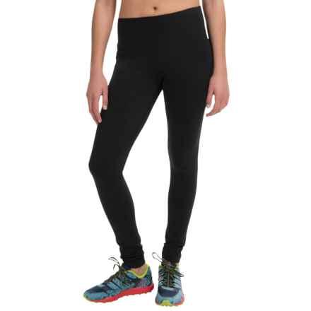 90 Degree by Reflex Hypertek Leggings - Full Length (For Women) in Black - Closeouts