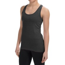 90 Degree by Reflex Power Flex Racerback Tank Top (For Women) in Heather Charcoal - Closeouts
