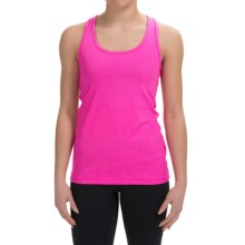 90 Degree by Reflex Power Flex Racerback Tank Top (For Women) in Heather Rose Pink - Closeouts