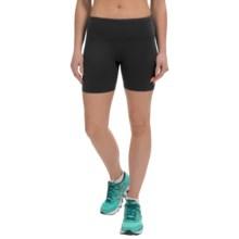 90 Degree by Reflex Power Flex Shorts (For Women) in Black - Closeouts