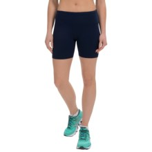 90 Degree by Reflex Power Flex Shorts (For Women) in Midnight Navy - Closeouts