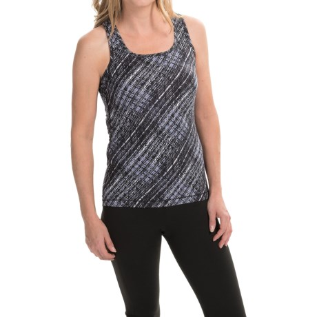 90 Degree by Reflex Printed Tank Top Racerback (For Women)