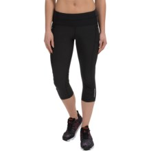 90 Degree by Reflex Reflective Pocket Capris (For Women) in Black - Closeouts