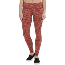 90 Degree by Reflex Space-Dye Workout Pants (For Women) in Fiesta Snow Space Dye - Closeouts