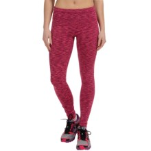 90 Degree by Reflex Space-Dye Workout Pants (For Women) in Mixed Berry Space Dye - Closeouts