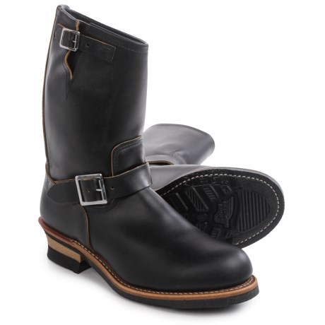 Image of 9268 Engineer Boots - 11? Leather, Factory 2nds (For Men)
