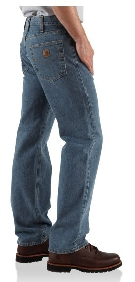 d14fc67cd13 Carhartt B480 Straight-Leg Jeans - Traditional Fit, Factory Seconds (For  Men)