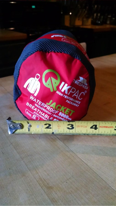 3e5f6dd98ed Trespass Qikpac Jacket - Waterproof (For Men and Women)