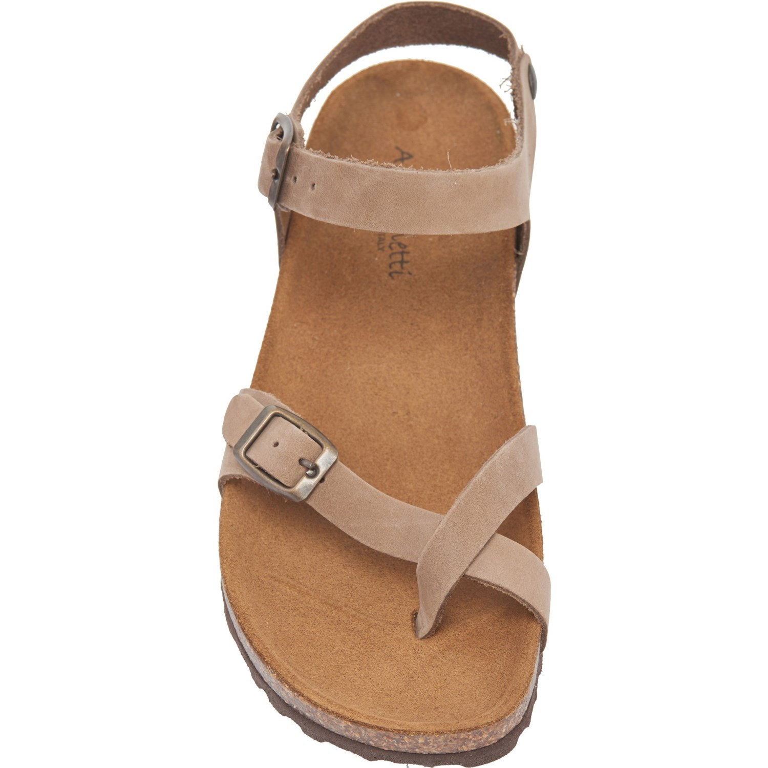 960e976154ba A. GIANNETTI Made in Italy Buckle Strap Sandals (For Women) - Save 40%