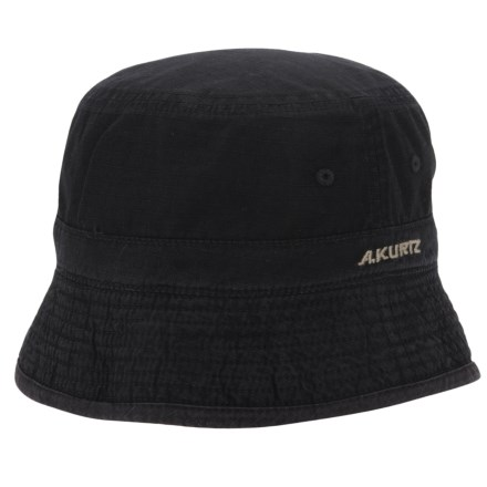 0bf5e44f884 A. Kurtz Buckley Bucket Hat - Reversible (For Men) in Black - Closeouts