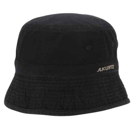 A. Kurtz Buckley Bucket Hat - Reversible (For Men) in Black - Closeouts