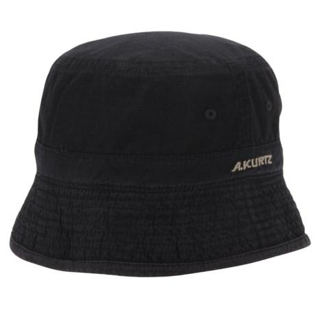 A. Kurtz Buckley Bucket Hat - Reversible (For Men) in Black