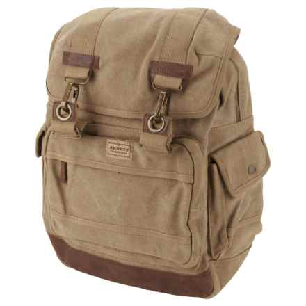 A. Kurtz Cedar Rucksack Backpack - 17L in Tan - Closeouts