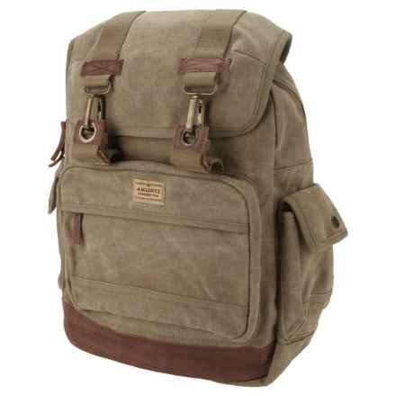 A Kurtz Cedar Rucksack Backpack (For Men) in Military - Closeouts