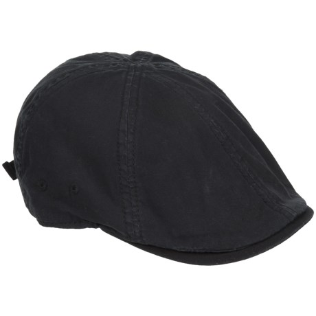 A. Kurtz Chino Ivy Driver Hat (For Men) in Black