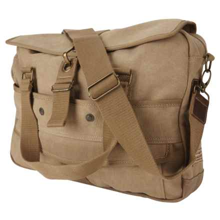 A. Kurtz Cottonwood Messenger Bag (For Men) in Tan - Closeouts